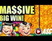 ★MASSIVE BIG WIN!★ $8.88 FU DAO LE & 88 FORTUNES (JACKPOT!!) Slot Machine Bonus (SG)