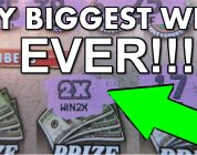 MONSTER WINNER!!$ MY BIGGEST WIN EVER!! ON A SCRATCH-OFF LOTTERY TICKET!!