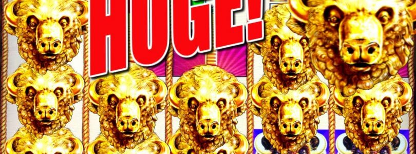 ★ HUGE MAX BET WIN ★ Count Those Buffalo Gold Heads! | Slot Traveler