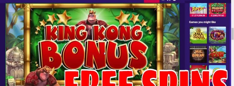 BIG WIN — King Kong Cash — live online slots