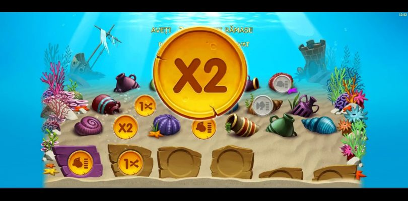 Golden Fishtank ! 1 25ron bonus ! super big win ! real money !