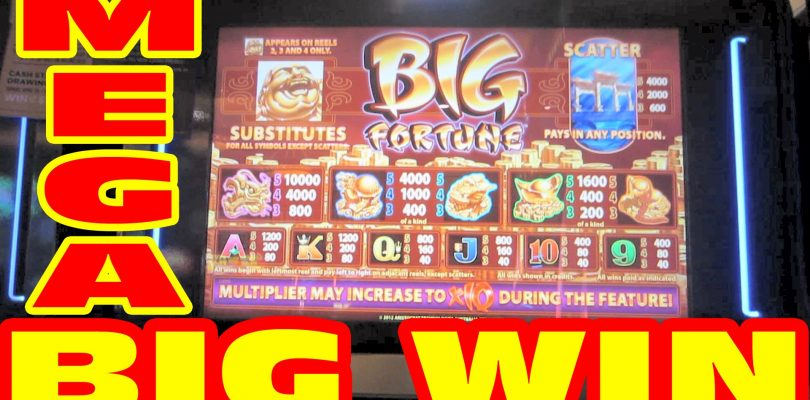 Big Fortune — MAX BET HUGE MEGA BIG WIN — Slot Machine Bonus