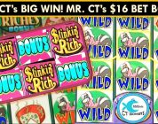 *Catch of the Day* Stinkin' Rich Slot Machine Bonuses — Big Wins, Big Bets, First Spin Bonus