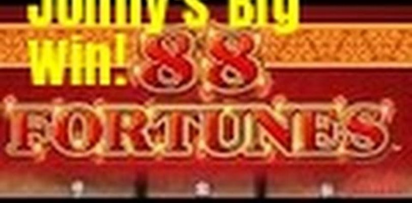 BIG WIN HIT! 88 FORTUNES SLOT MACHINE BONUS-LIVE PLAY