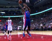 Brandon Jennings Leads Pistons to Big WIn with Double-Double