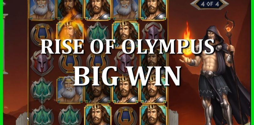 BIG WIN ON RISE OF OLYMPUS — HADES — PLAY'N GO