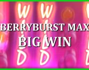 BIG WIN ON BERRYBURST MAX — NETENT