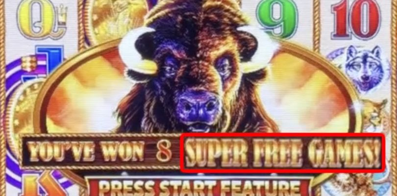 BIG WIN WITH A BUFFALO BUFFET *** TOWERS, WHEELS, COINS AND RETRIGGERS !!!!!