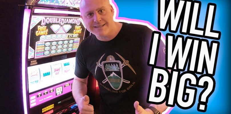 WILL I WIN?? ✦ Go BIG or Go BUST ✦ Double Diamond Slots | The Big Jackpot