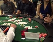 Casino Night 2013 — BIG Blackjack win!
