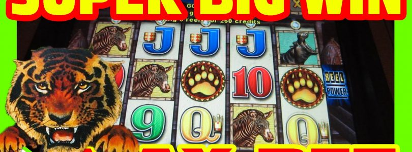 WILD WAYS — MAX BET SUPER BIG WIN  — Slot Machine Bonus RETRIGGER
