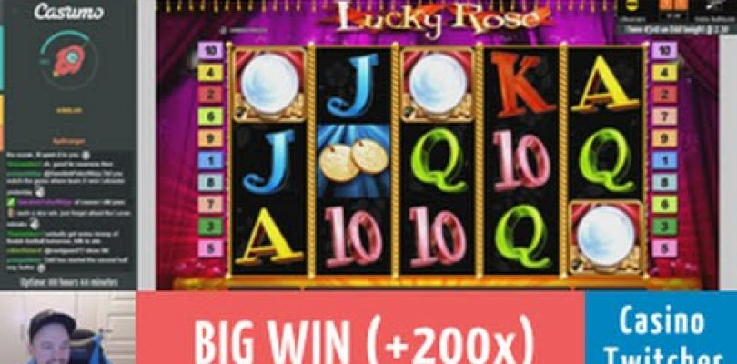 Lucky Rose — BIG WIN — Bet size: €1.00