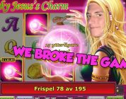 BIG WIN!!!!! Lucky ladys charm bonus round Huge Win from LIVE STREAM (Casino Games)