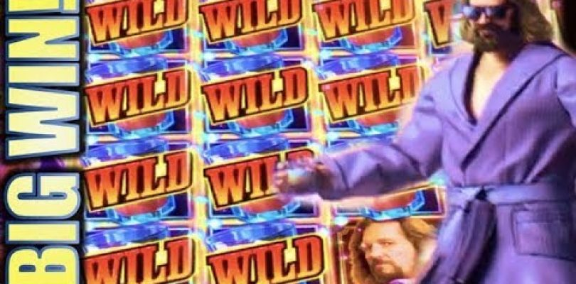 ★BIG WIN! SURPRISE WILDS!!★ THE BIG LEBOWSKI …WHO IS THIS ROBED MAN? Slot Machine Bonus