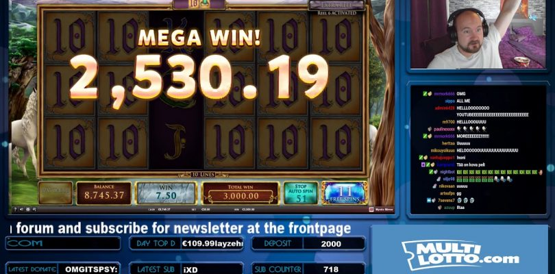 Big Bet!! Mega Big Win From Mystic Mirror!