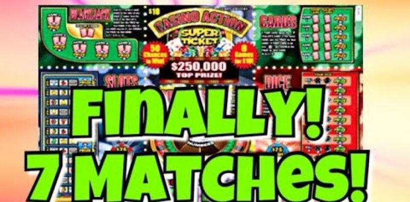 TOTALLY UNEXPECTED BIG WIN! 7 WINS ON ONE TICKET! $10 Casino Action Super Ticket Texas Lottery