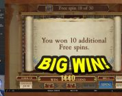 BIG WIN on Book of Dead Slot — £7.50 Bet!