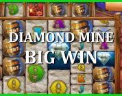 BIG WIN ON DIAMOND MINE — 4$ BET