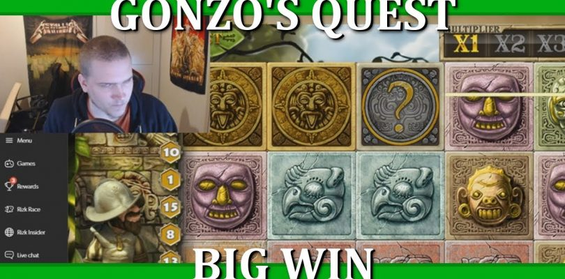 BIG WIN — GONZO'S QUEST