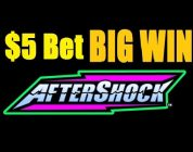 ★ BIG WIN! AFTERSHOCK SLOT MACHINE HIGH LIMIT LIVE PLAY! Best of $1 Denom Vegas! (DProxima)