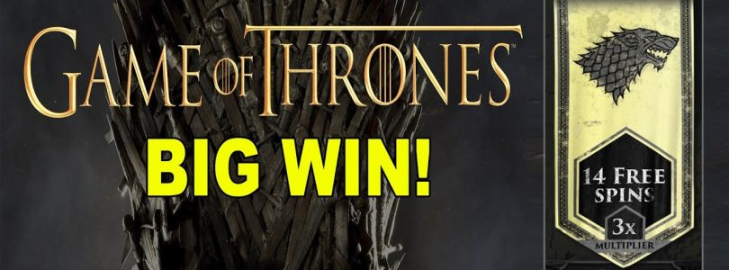 BIG WIN on Game of Thrones: Stark Bonus — £3 Bet