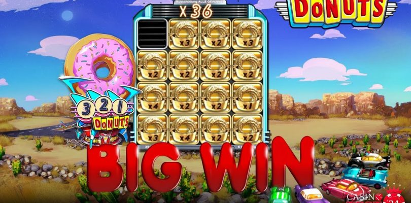 BIG WIN ON DONUTS SLOT (BTG) — 5€ BET!