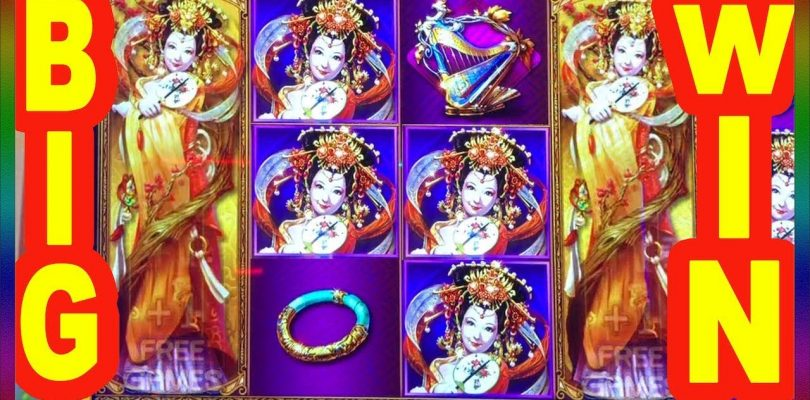 ** BIG WIN ON NEW GAME SHENG SHI GUI FEI ** SLOT LOVER **