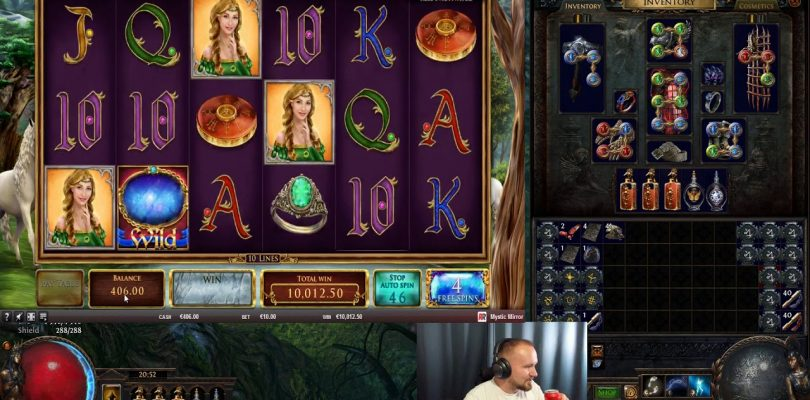 Mega Big Win From Mystic Mirror Slot!!