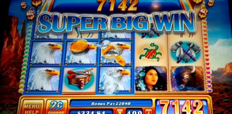 Great Eagle II Slot — $8 Max Bet Bonus — Super Big Win!