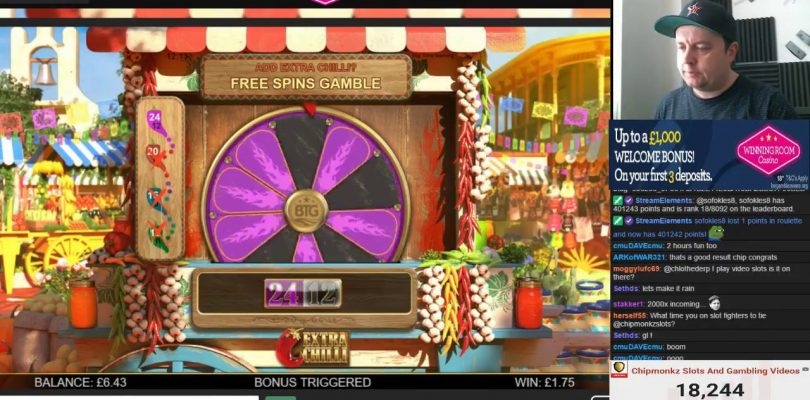BIG WIN — Extra Chilli New Slot From BTG