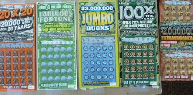BIG WIN — Scratching FIVE $20 Instant Lottery Tickets — From the same store as the fiver losers