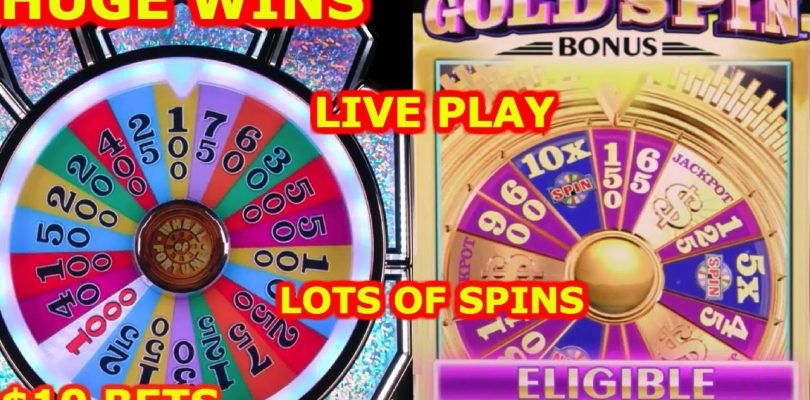 ★WHEEL OF FORTUNE GOLD SPIN ★ $10 MAX BET ★ BIG WINS ★ 10X MULTIPLIER ★ LIVE PLAY ★