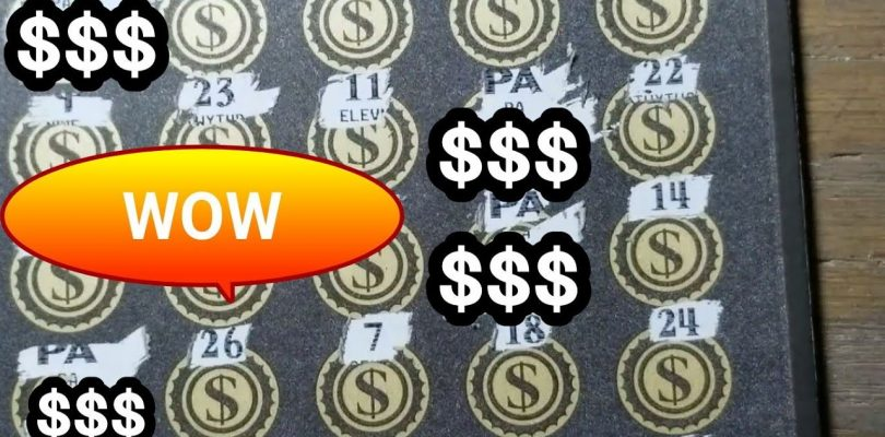 Multiple Symbols found. Big Win. $30 lottery scratch tickets.