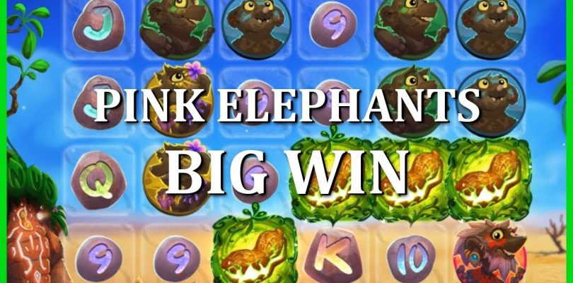 BIG WIN ON PINK ELEPHANTS