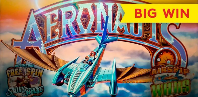 INCREDIBLE COMEBACK! Aeronauts Slot — $10 Max Bet — BIG WIN BONUS!