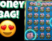 MONEY BAG BIG WIN! $10 Cash Explosion $25 Million Payout