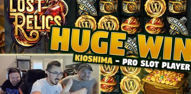 Big Win Lost Relics — 5 euro bet — Casino With KioShiMa (k1o) from LIVE stream
