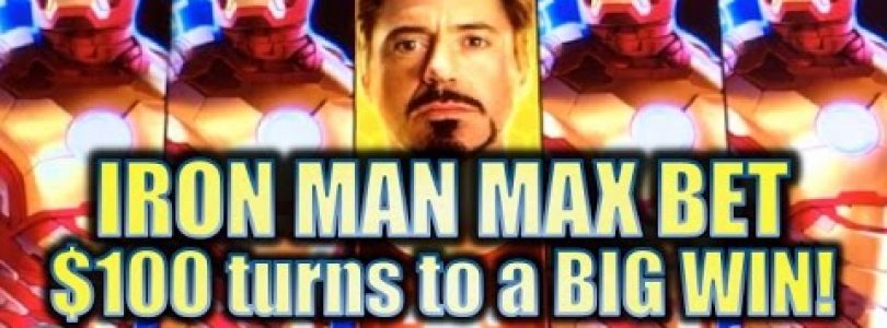 ★IRON MAN BIG WIN!!★ NEW IRON MAN SLOT (WMS/SG) | MAX BET! Slot Machine Bonus