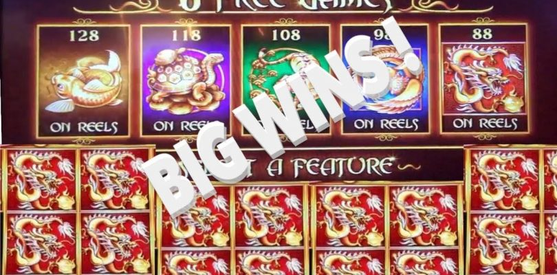 5 Treasures BIG WINS and Bonus Round !