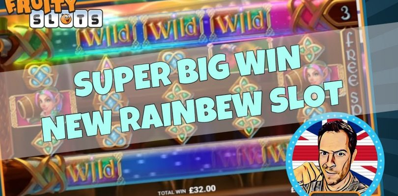 SUPER BIG WIN ON NEW RAINBREW SLOT!