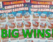New Christmas Scratchcards And A Big Win!