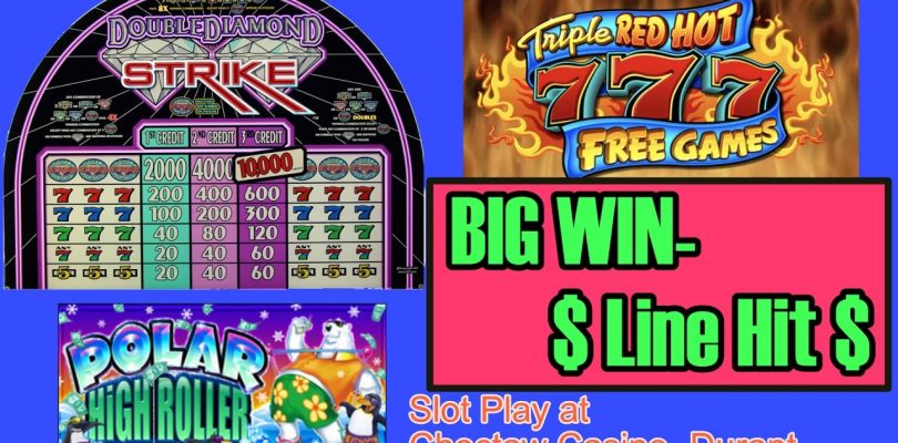 ✦BIG WIN✦ Line Hit- Choctaw Casino, Durant