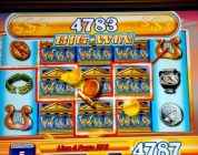 Zeus Slot Big Win JACKPOT HANDPAY! $45 Max Bet — Slot Machine Bonus Round!