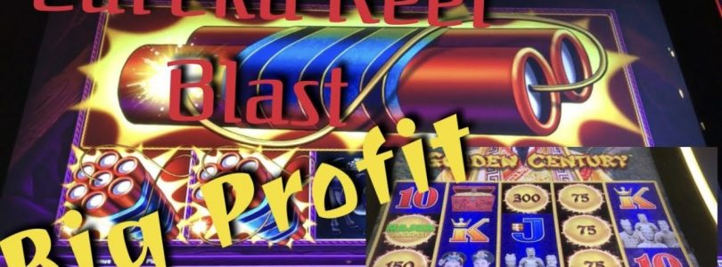 EUREKA REEL BLAST / Dragon Link — big wins — Major jackpot win on first Spin !