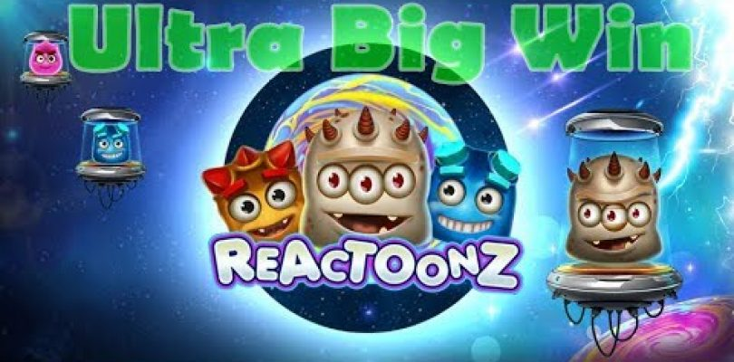 Reactoonz Slot Ultra Big Win / I Need Money And Reactoonz Is With Me / Nice Win