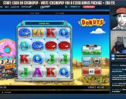 HUGE WIN!!! Donuts BIG WIN — Slots — Casino games (Online slots) from LIVE stream