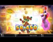 RECORD BIG WIN! Genie Jackpots slot machine! CASINO HUGE WIN!