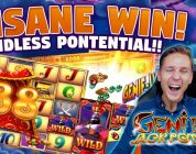 MEGA WIN! Genie Jackpots BIG WIN — HUGE WIN — Casino games (Online slots) from LIVE stream