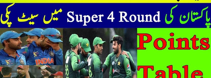 Pakistan Big Win and Almost Qualified To Super 4 Round of Asia Cup 2018 | Group A Points Table