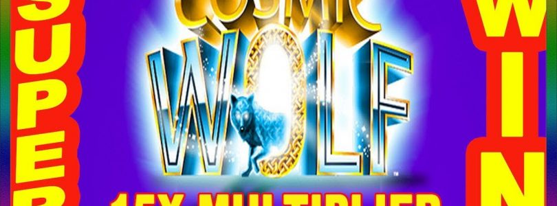 ** BIG WIN ON NEW KONAMI COSMIC WOLF WITH 15X MULTIPLIER  ** SLOT LOVER **